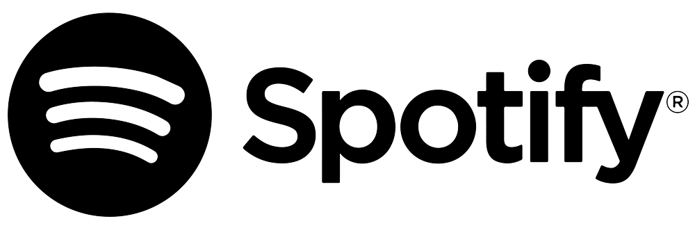 Spotify logo black