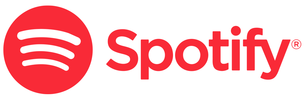 Spotify logo red