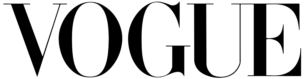Vogue logo black
